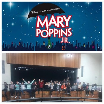 Mary Poppins Jr. Musical performed by Anne Sullivan students