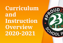 Curriculum and Instruction Overview 2020