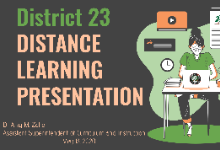 Distance Learning Presentation