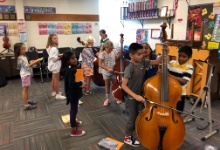 4th Graders Try Instruments for Band & Orchestra