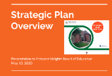 Strategic Plan Update for 2020-21