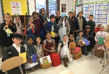 Ellis Island Simulation for 4th Graders at Sullivan