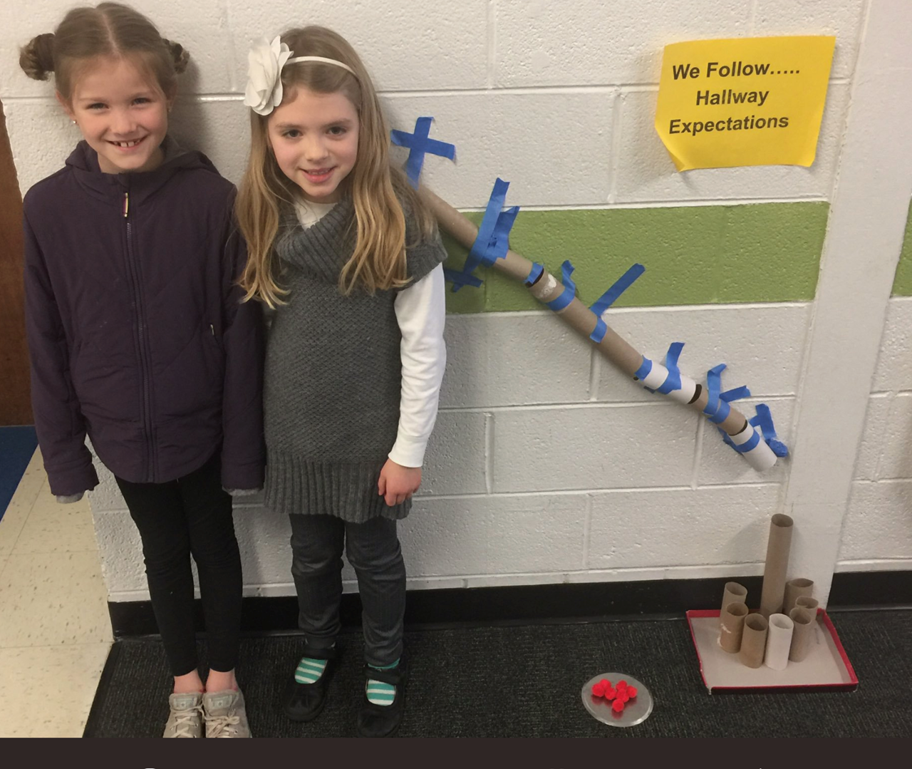 Two girls and their STEAM Project