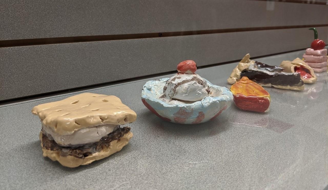 Student ceramic art