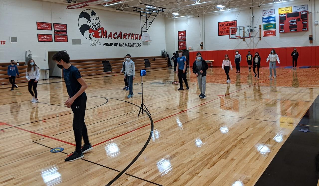 Dance Unit in PE class