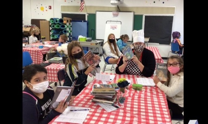 Students book tasting different genres
